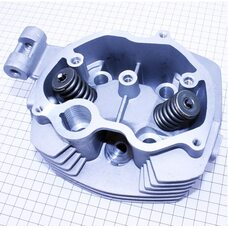 Головка цилиндра 125cc-56,5mm + клапана к-кт