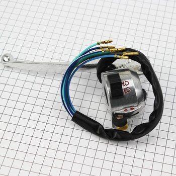 Блок кнопок на руле левый с рычагом (под зеркала М10) DELTA