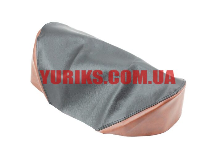 Чехол сиденья Карпаты (эластичный, прочный материал) черный/коричневый