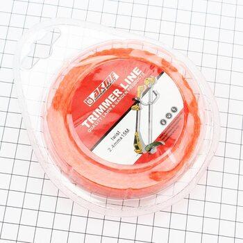 """Леска d=2,4mm, 15м """"сверло"""" (разные цвета)"""
