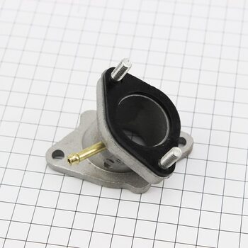 """Kinlon JL150-70C Патрубок карбюратора (метал) """"высокий"""""""