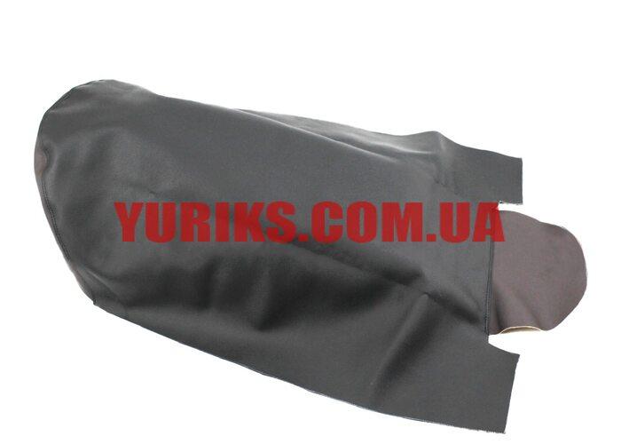 Чехол сиденья (эластичный, прочный материал) черный/коричневый