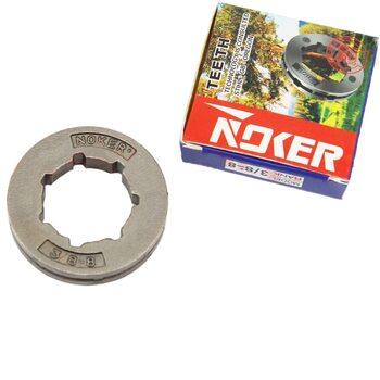 Звезда цепи шаг 3/8 на 8 пазов D=22 мм от NOKER
