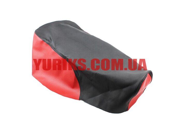 Чехол сиденья МТ (эластичный, прочный материал) черный/красный