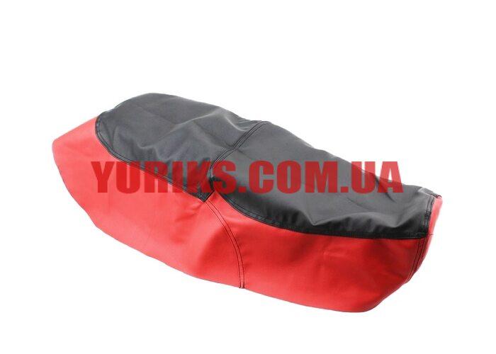 Чехол сиденья Юпитер-5, Планета-5 (эластичный, прочный материал) черный/красный