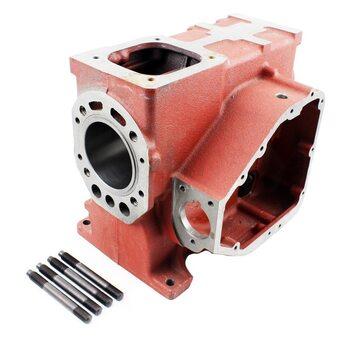 Блок двигателя, поршень 80мм R180NM (короткий)+гильза+шпильки 4шт