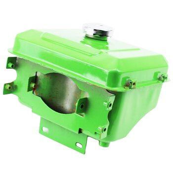 Бак топливный R175A/R180NM, 260x190x165мм, выст. горловина, отверстие под шланг топливный + крышка