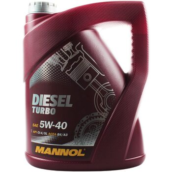 DIESEL TURBO 5W-40 масло синтетическое, 5л