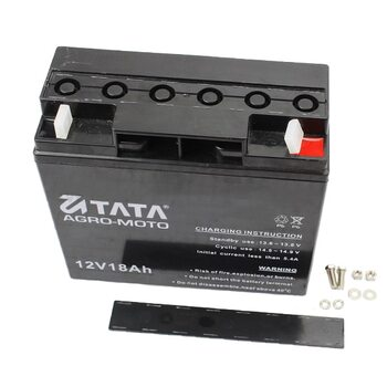 Аккумулятор 12V/18Аh (гелевый, черный) 180/77/165мм