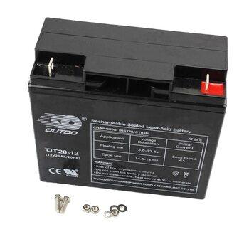 Аккумулятор OT20-12 - 12V20Ah (L182*W76*H165mm) для ИБП, игрушек и др., 2019