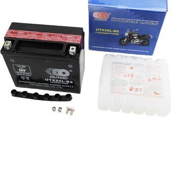 Аккумулятор 20Аh UTX20L-BS кислотный (L175*W85*H155 mm), 2019