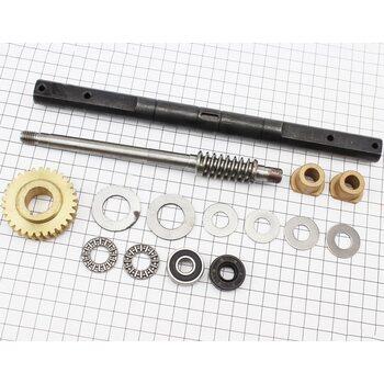 Ремонтный комплект культиватора, 13 деталей+вал+шестерня