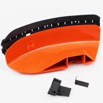 Защита ножа пластмассовая с резинкой (лопух) Stihl FS-44/55/80/90/100/130/310/450