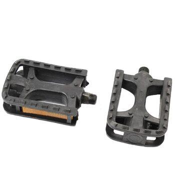 """Педали MTB 9/16"""" (104x72.5x23mm) пластиковые, черные HJL-823"""