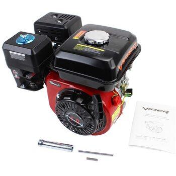 Двигатель мотоблочный в сборе под шпонку Ø19мм, фильтр-поролон, 7,0 л.с. 170F