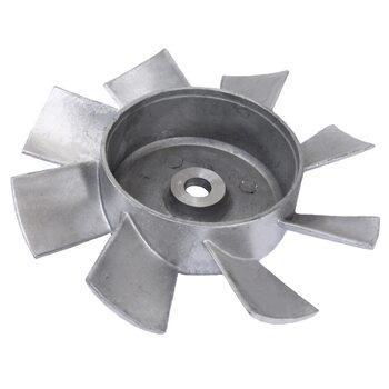 Крыльчатка вентилятора, алюминий D=160мм