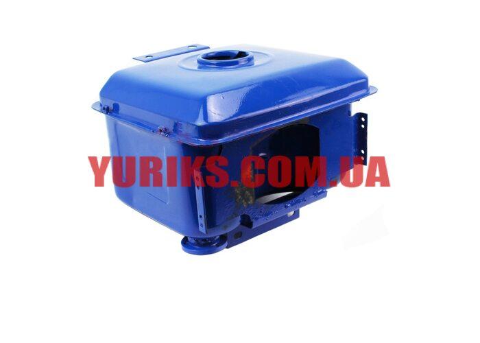 Бак топливный R195NM, 285x230x180мм, потайная горловина, отверстие под кран топливный