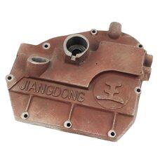 Крышка блока двигателя правая (со стороны заводного рычага), 8отв., чугунная R190N/195NM Тип №3