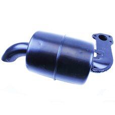 Глушитель R195NM (с коленом 3отв.)